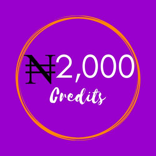 2000 Credits